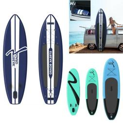 10/11FT Inflatable Stand Up Paddle Board Non-Slip Deck with