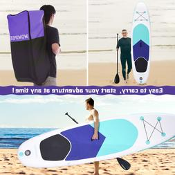 10.5ft Inflatable Stand Up Paddle Board Surfboard with compl