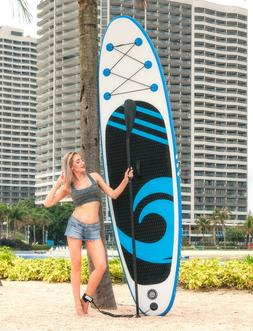"""10'6"""" SUP Stand UP Paddle Board Inflatable Surfboard Surf Pa"""