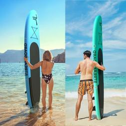 10' Inflatable Stand Up Paddle Board Surfing SUP Boards, Non