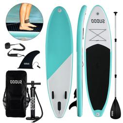 10ft Inflatable Sup Stand Up Paddle Board Non-Slip Deck w/ A