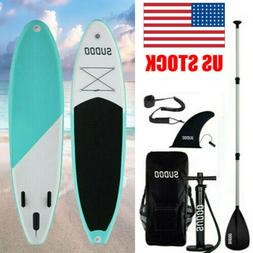 10ft Inflatable SUP Stand Up Paddle Board Non-Slip Surfboard
