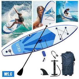 10ft Inflatable Surfboard Stand Up Paddle Board Paddle Pump