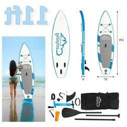 11ft Inflatable Paddle Board  Premium Stand Up SUP Accessori