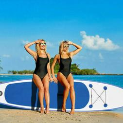 11FT Inflatable Stand Up Paddle SUP Board Surfing SurfBoard