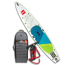New Voyager Plus 13'2 Red Paddle CO Inflatable SUP Paddle Bo