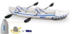 Sea Eagle 370 Pro Package Inflatable 12.5 Ft Kayak New Facto
