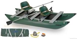 Sea Eagle 375FC Deluxe Package Inflatable Pontoon Boat Catam