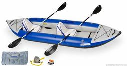 Sea Eagle 380X Deluxe Explorer Package Inflatable Kayak Clas