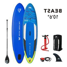 "Aqua Marina Beast 10'6"" Stand Up Paddle Board Inflatable SUP"