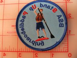 BSA Stand Up Paddleboarding collectible patch