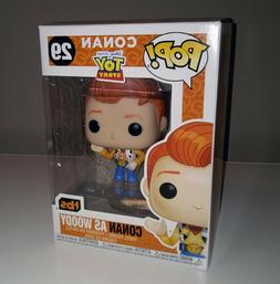 Conan O'Brien as Woody from Disney Toy Story Funko Pop #29 L