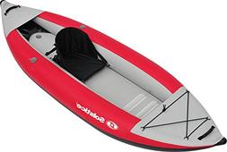 Solstice by Swimline Flare 1 Person Kayak, Red