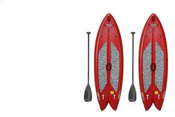 """Lifetime Freestyle XL 9'8"""" Stand-Up Paddleboard - 2 Pack"""
