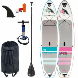 F2 Inflatable Impact Stand up Paddle Board Sup I Isup Comple