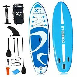 """Inflatable Paddle Board Stand-Up Paddleboards 10'6""""×33""""×6"""""""