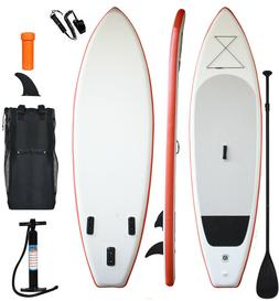 """inflatable stand up paddle board 11'long 33""""width 6""""thicknes"""