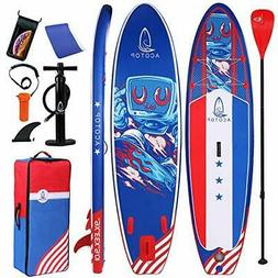 Inflatable Stand Up Paddle Boards with Premium SUP Accessori
