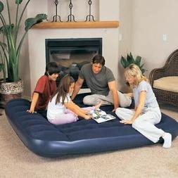 Bestway King Size Inflatable Air bed Mattress w/ pillow & Fo