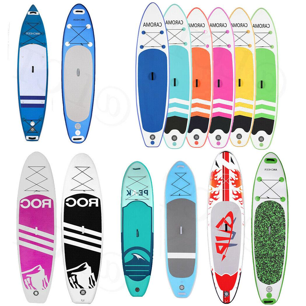 10-11ft 6'' Thick Kit Stand Up PaddleBoard Multi