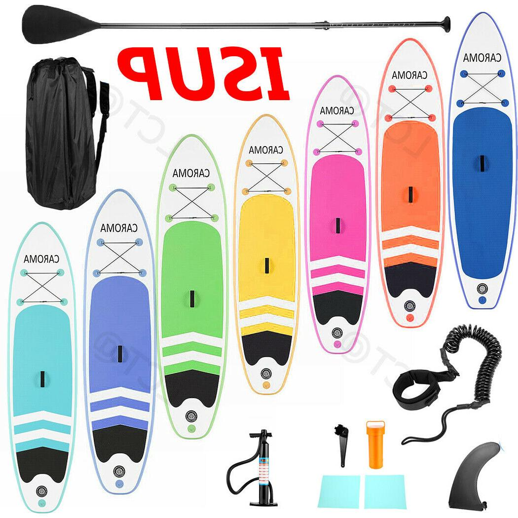 10-11ft Kit Inflatable Stand Up PaddleBoard Multi