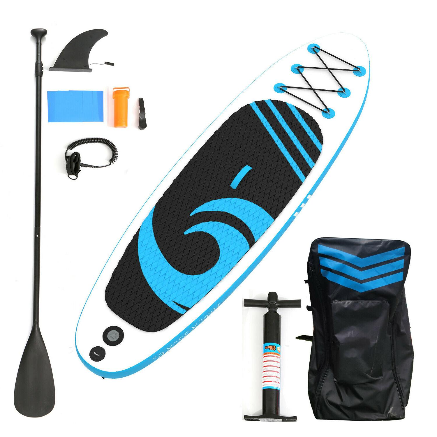 """10'6"""" Board Paddleboard Inflatable Up SUP Surfboard"""