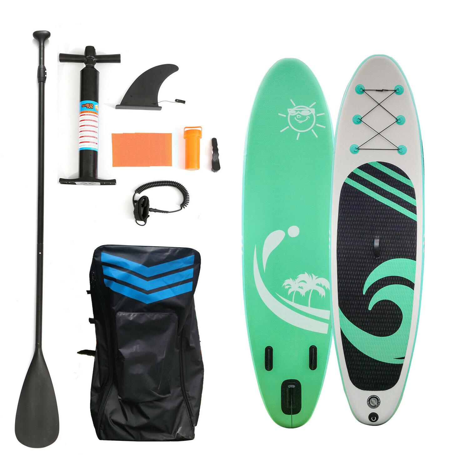 10 6 paddle board paddleboard inflatable stand