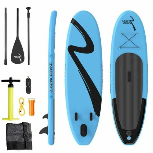 10'Inflatable Up PaddleBoard Surfing SUP Boards Non-slip