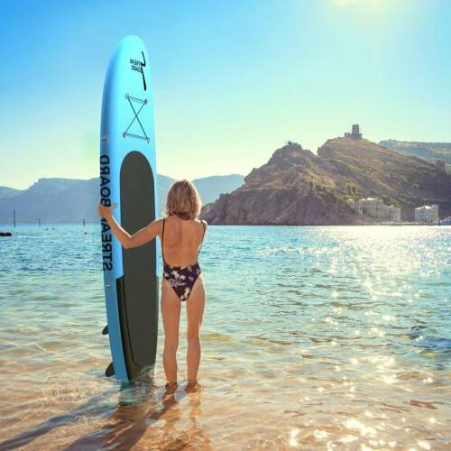 10'Inflatable Up PaddleBoard Surfing Deck