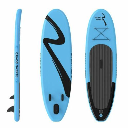"""10'Inflatable Surfing Deck 6"""" Thick"""