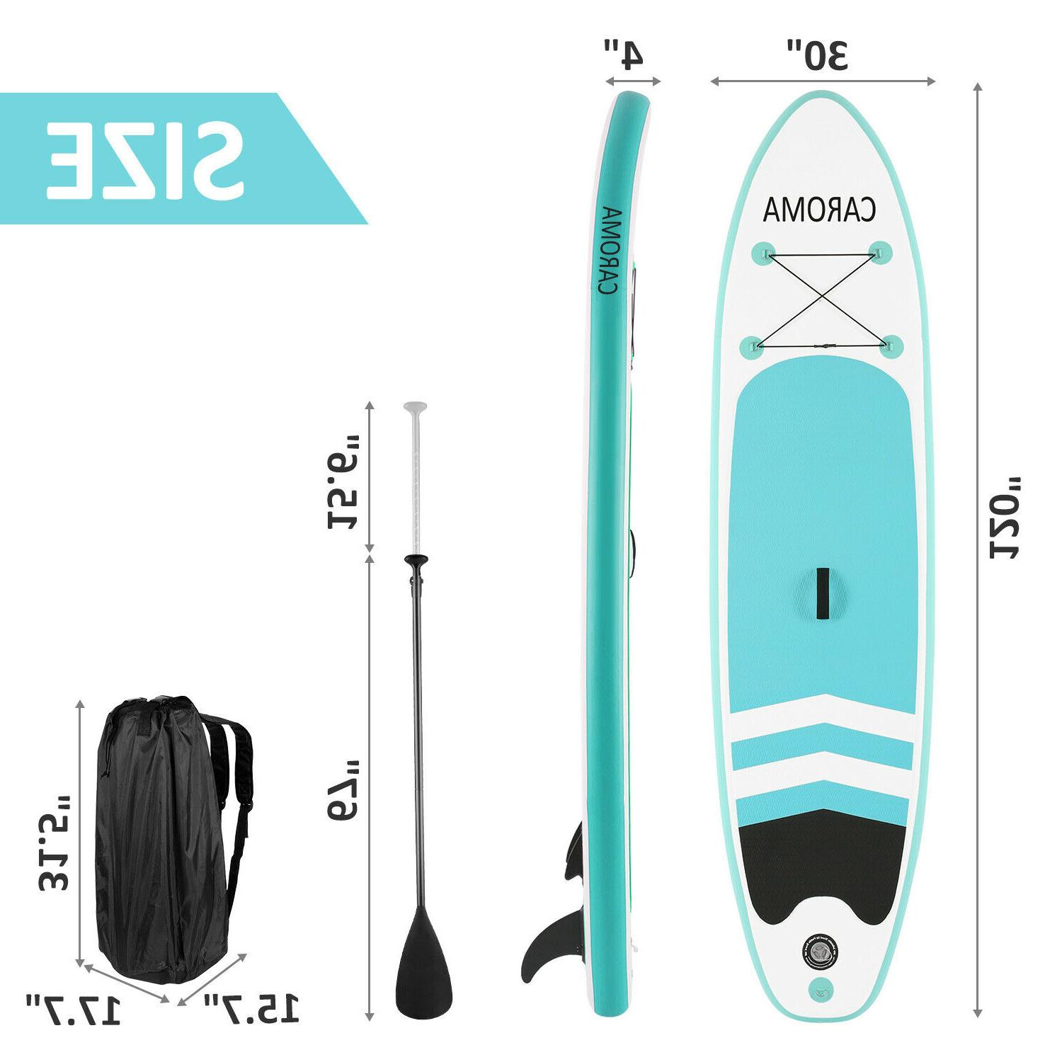 CAROMA Up Surfboard with complete kit