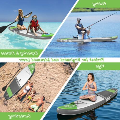 Paddle Surfboard SUP w/Fin+Pump+Complete Kit+Bag