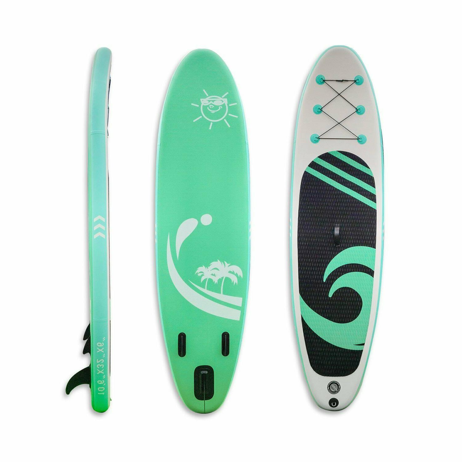 10ft SUP Board Inflatable Surfboard Surfing Kayak