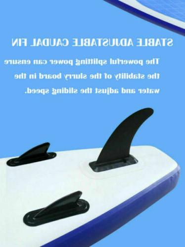 10ft Inflatable Stand Up Paddle with thick