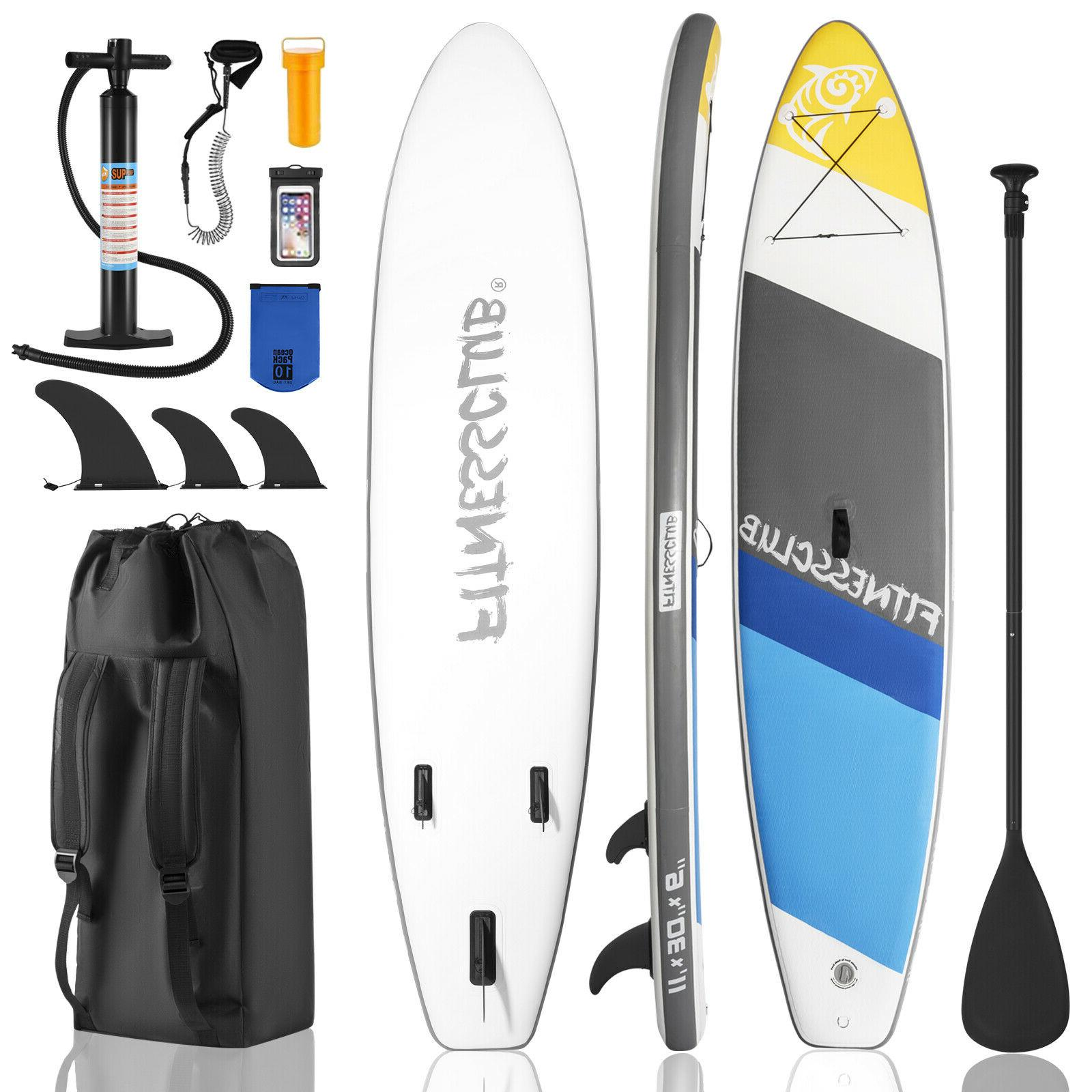 """11'6"""" Inflatable Stand Paddleboards w/Complete"""
