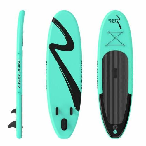 10' Inflatable Stand Up Paddle Board Non-Slip Deck 6'' Thick