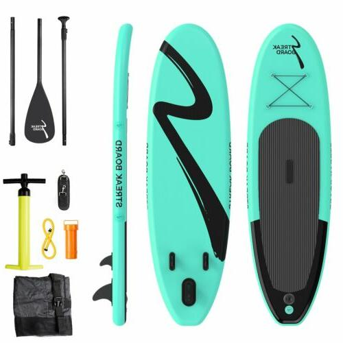 "10""Inflatable Non-slip Stand Up Paddle Board Surfing SUP Boa"