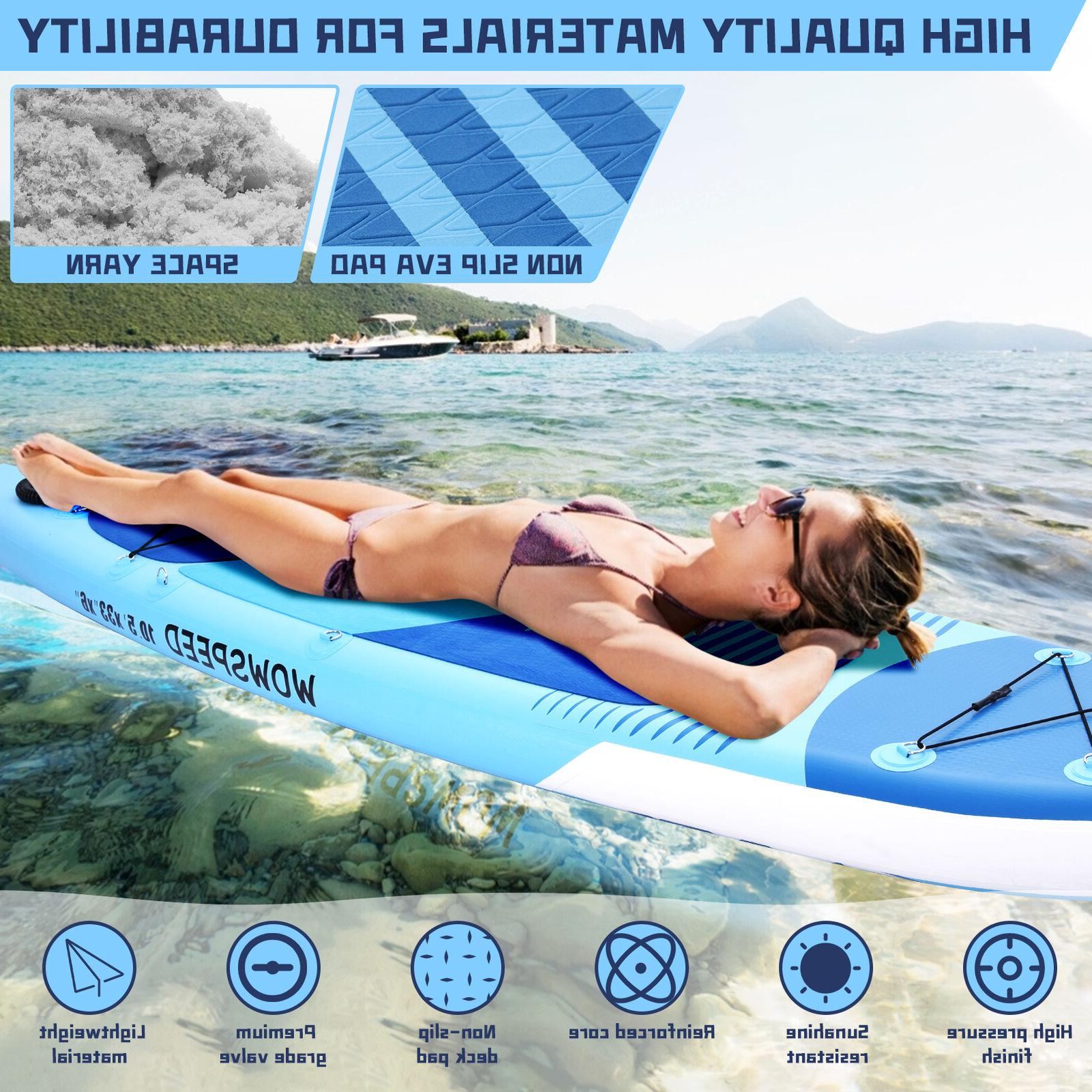 11ft Inflatable Paddle Board Stand Up Surfing
