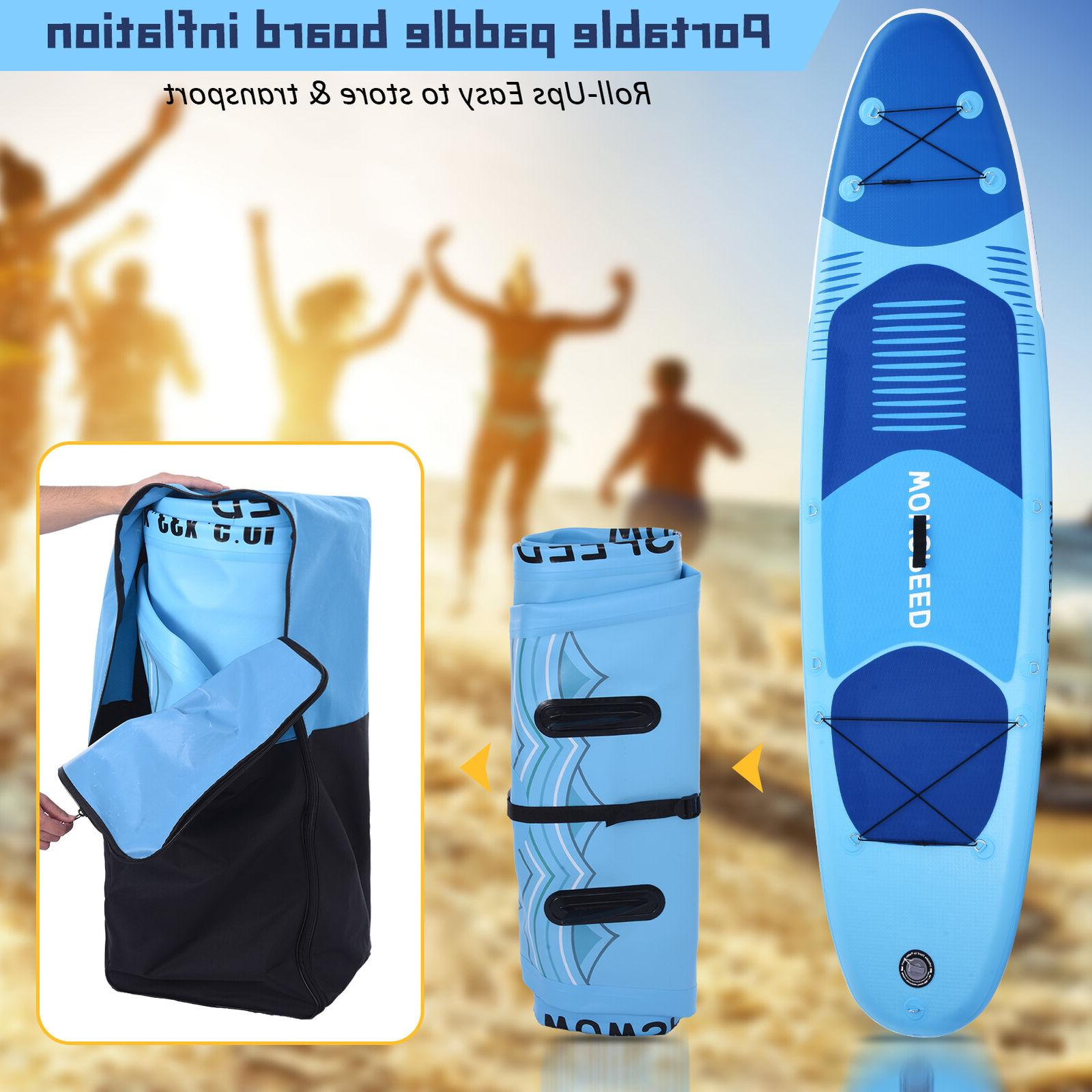 """11ft Inflatable Paddle Surfing 6"""""""