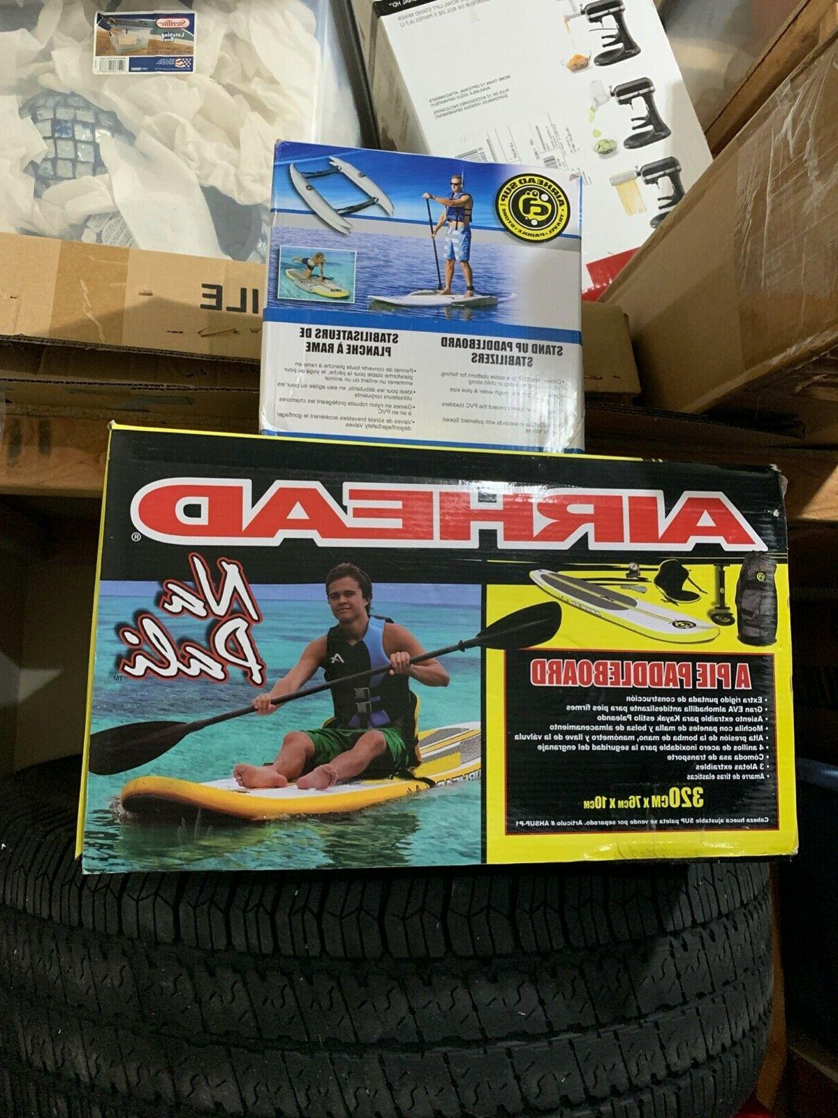airhead na pali paddleboard with vest