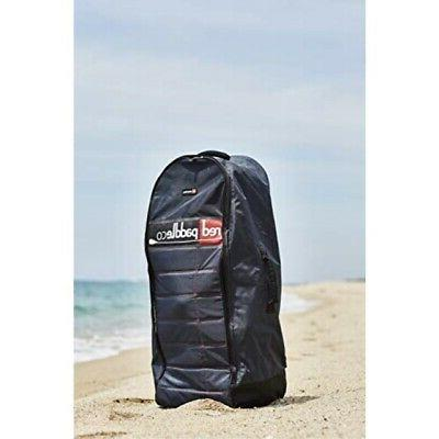 Red Paddle Terrain Bag - Wheeled Inflatable Back