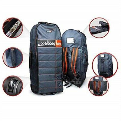 Red Terrain Bag Inflatable Back