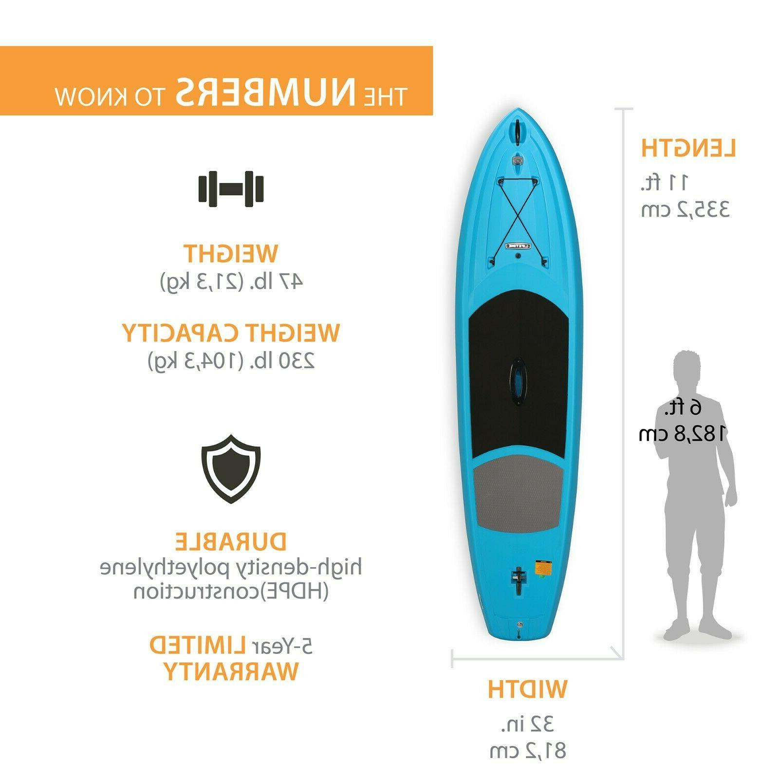 Lifetime x 32 Blue Paddleboard