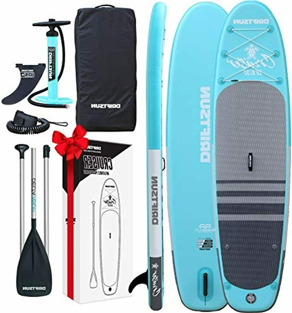 cruiser inflatable standup paddleboard 10ft isup package