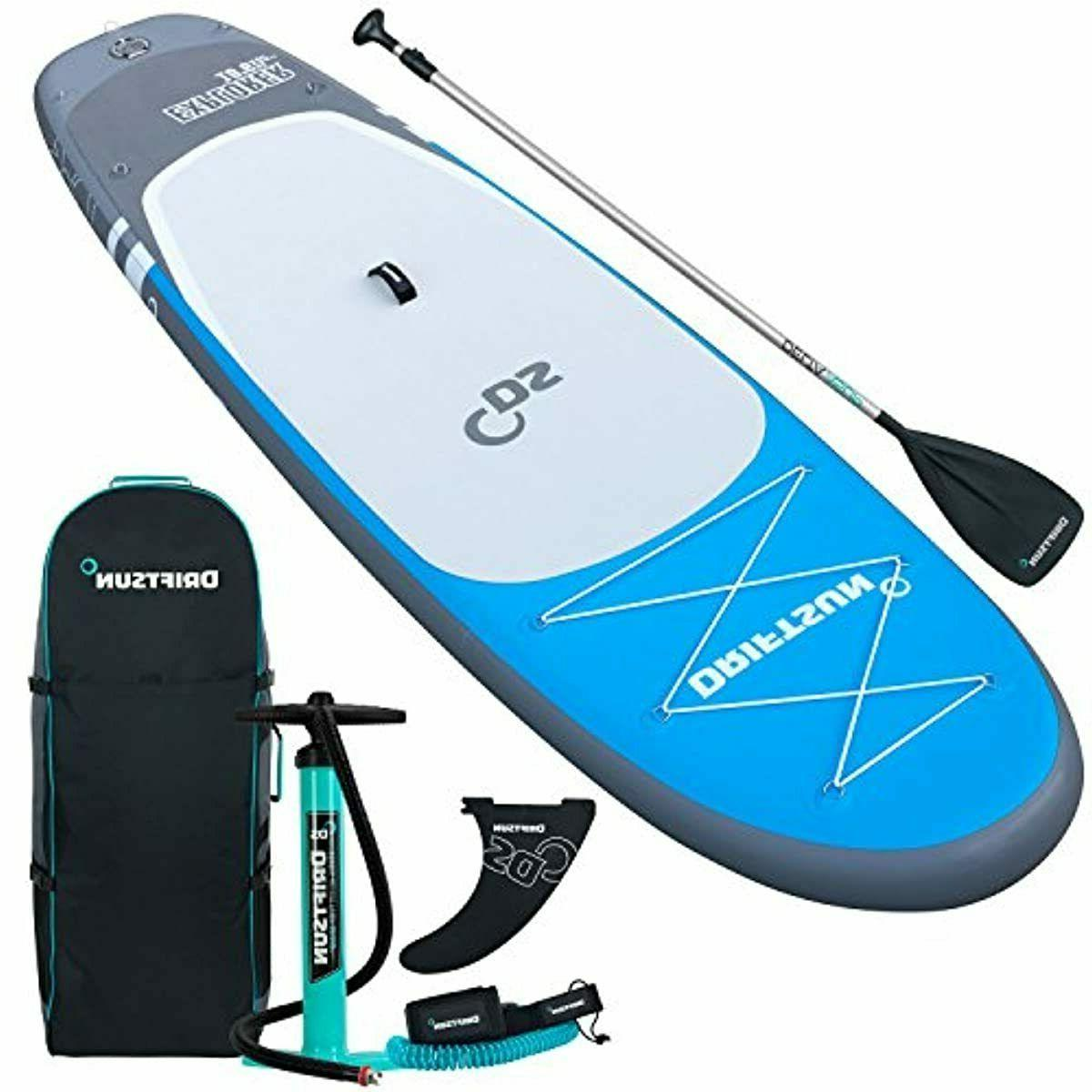 Driftsun Explorer Up Paddleboard 10 ft with Paddle,