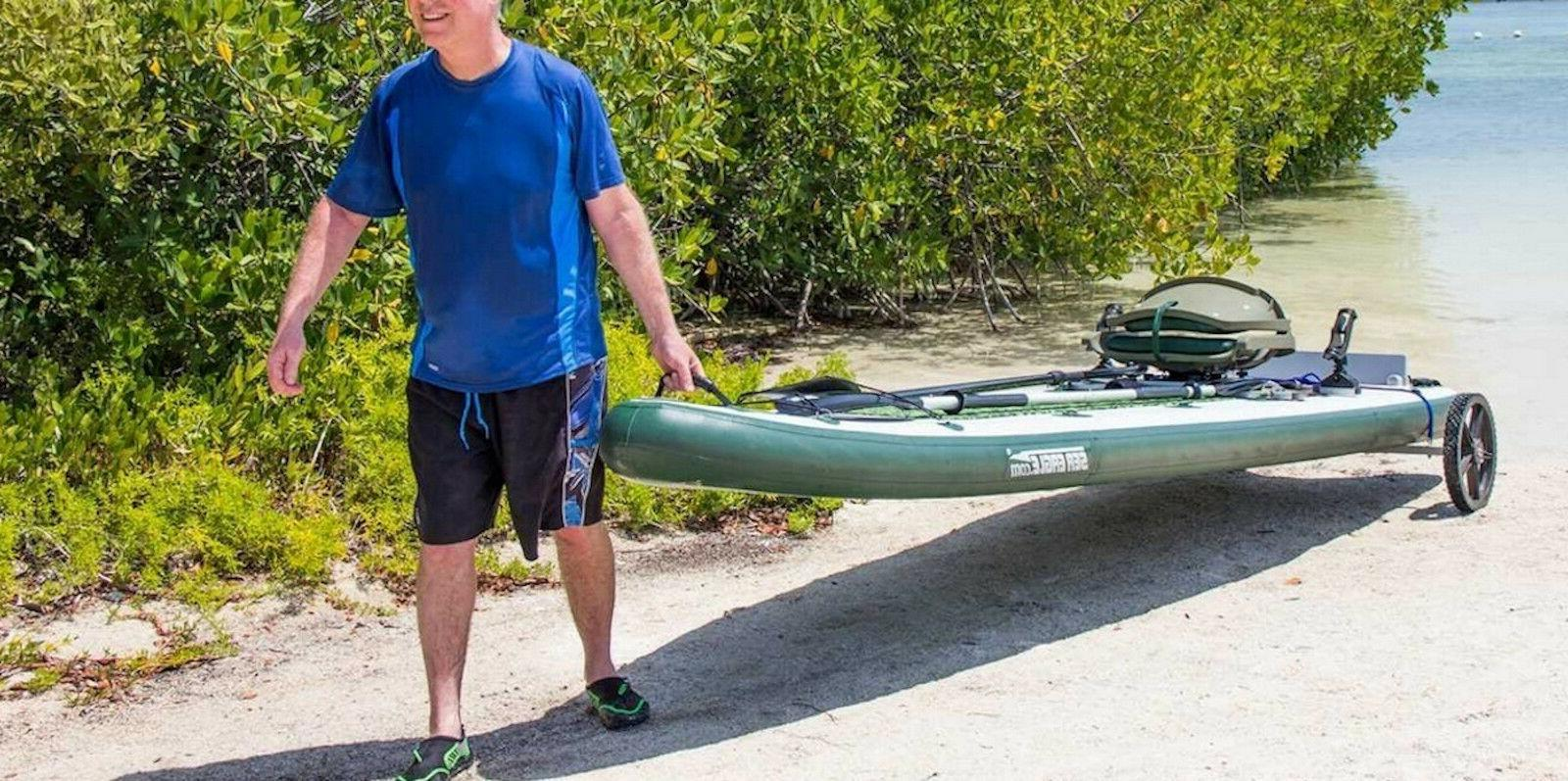 Sea Eagle FS126 Sup Swivel Rig Package Inflatable