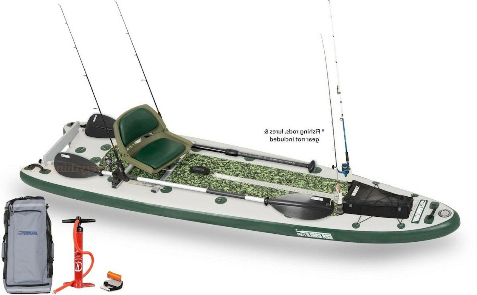 fs126 sup swivel seat fishing rig package