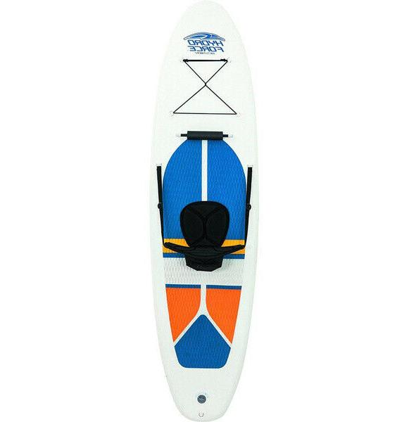 Bestway Hydro-Force Foot Inflatable Stand Up Board SUP and Whit