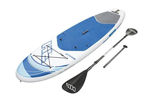 """Bestway Hydro-Force 10' 33"""" 4.75"""" Oceana Inflatable Stand Up Board"""