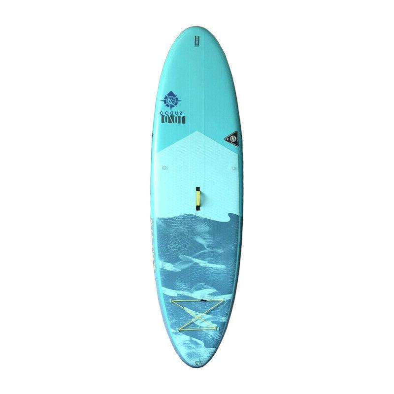 Inflatable 10' SUP Board Thick With Pump Boards